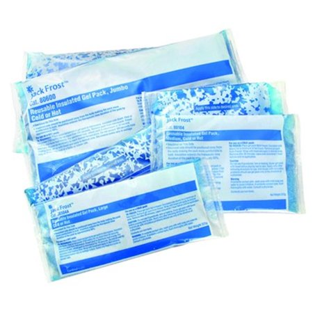 Cardinal Health 80204A 4 5 X 7 In  Jack Frost Insulated Hot   Cold Gel Packs  44  Reusable  44  Small  44  24 Per Case