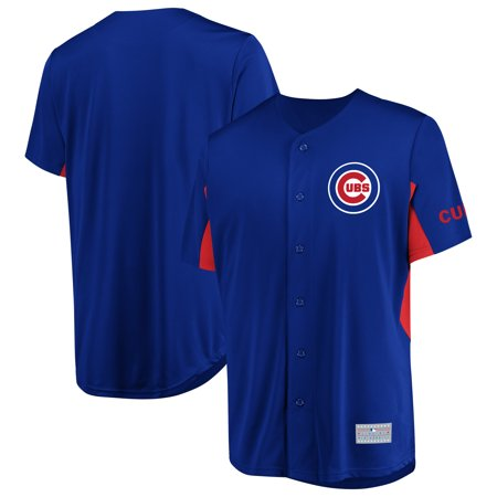 Men's Majestic Royal Chicago Cubs Champion Choice (Majestic Classic Jersey)