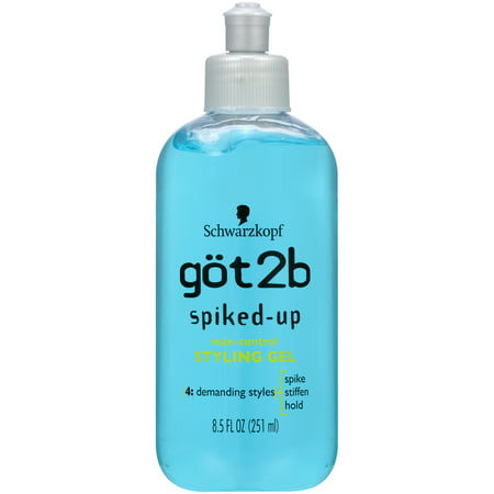 Got2B Spiked Up Styling Hair Gel, Max Control, 8.5 (Best Hair Styling Products For Women)