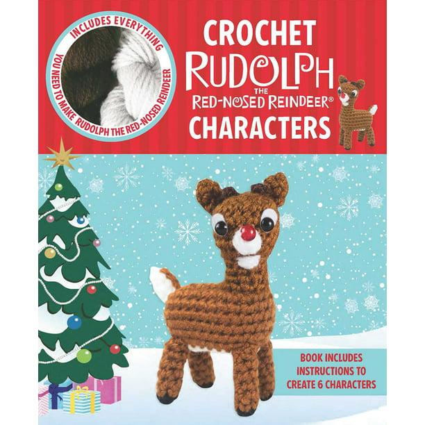 Cute Crochet Reindeer Amigurumi - Free Patterns - DIY 4 EVER   612x612