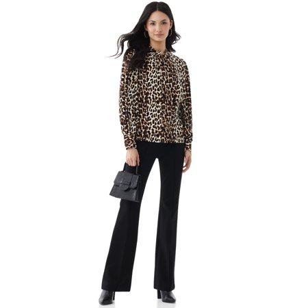 Scoop Women's Leopard Print Top