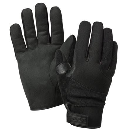 Cold Weather Street Shield Police Cut Resistant Lined Gloves in Black