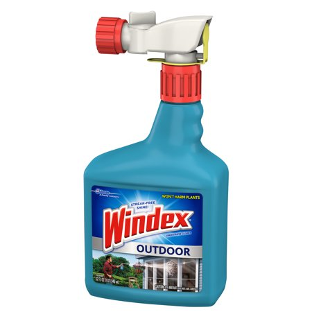 Windex Outdoor Glass Patio Concentrated Cleaner 32 Fluid Ounces Best All Purpose Cleaners