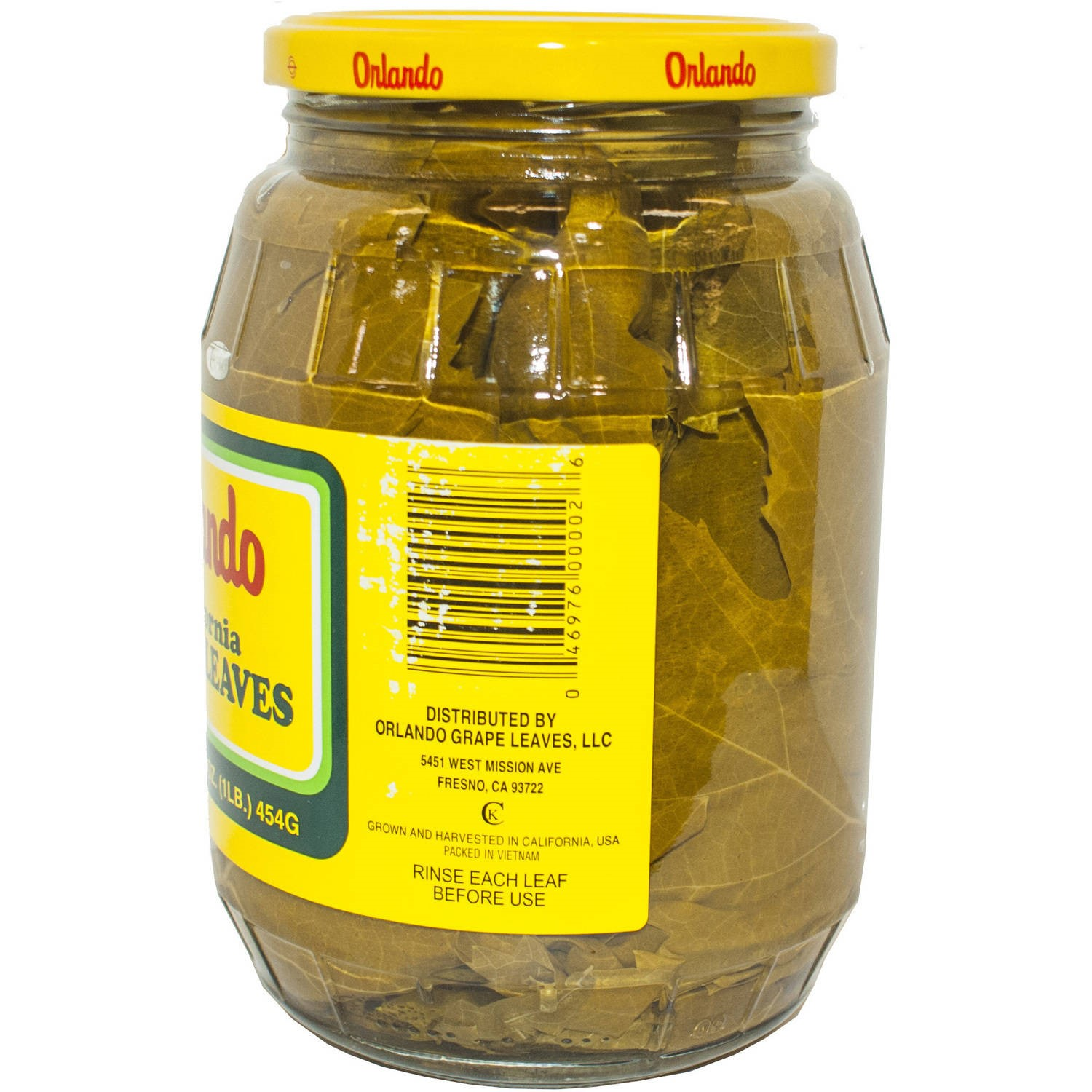 Orlando California Grape Leaves 16 Oz Walmart Com Walmart Com