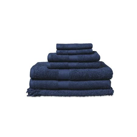 - Baltic Linen Company Belvedere 100-Percent Cotton 7-Piece Towel And Rug Set