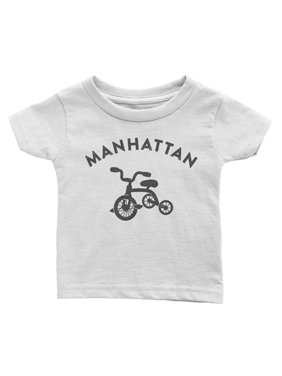 Bike Baby Tee Manhattan Velo Collection