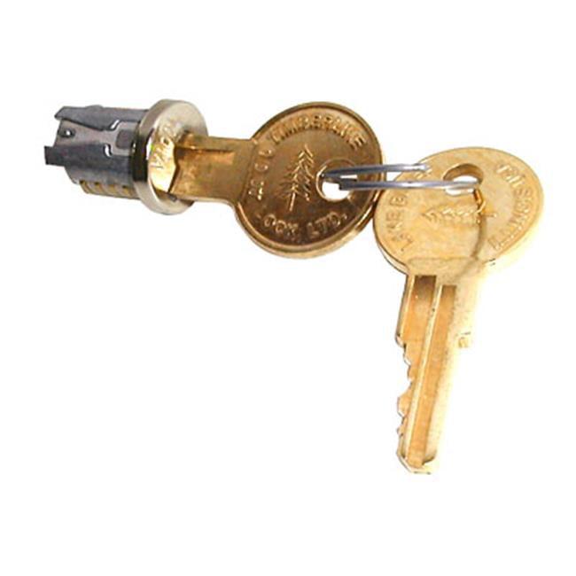HD TLLP 100 109TA Lock Plugs, Nickel Keyed Alike - 109