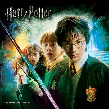 2019 Harry Potter Wall (Mickey's Halloween Party 2019 Calendar)