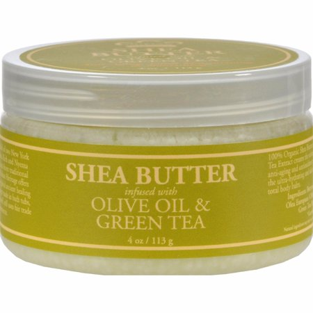 Nubian Heritage Olive - Nubian Heritage Shea Butter Infused With Olive Oil And Green Tea Extract - 4 Oz