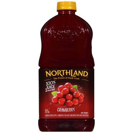 (2 Pack) Northland 100% Juice, Cranberry, 64 Fl Oz, 1 Count