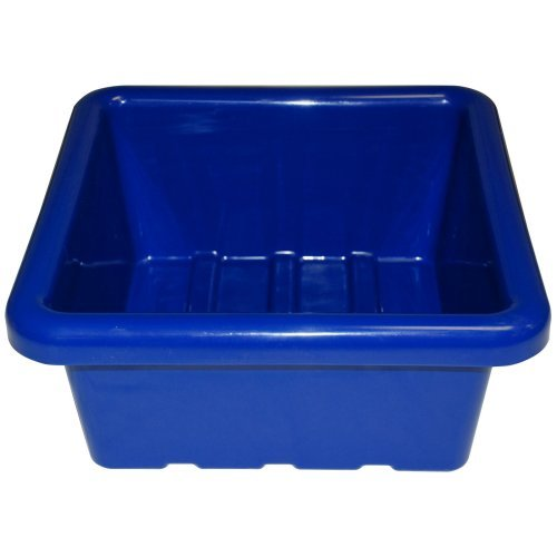 ECR4KIDS Sand & Water Square Trays without Lid - Set of 4