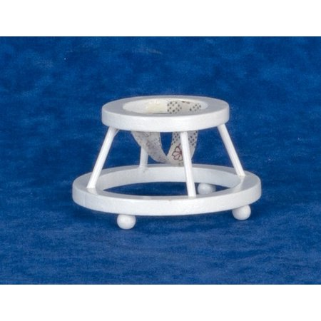 Dollhouse Baby Walker White ()