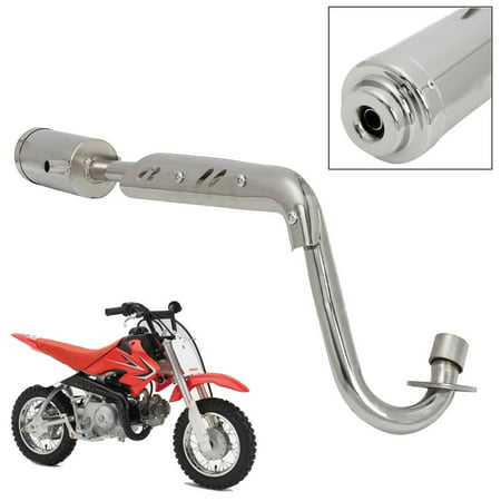 MUFFLER EXHAUST PIPE SYSTEM 4 STROKE FITS CRF50 DIRT PIT BIKE 50 110cc 125cc (Dirt Bike Exhaust Systems)