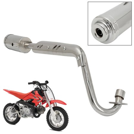 MUFFLER EXHAUST PIPE SYSTEM 4 STROKE FITS CRF50 DIRT PIT BIKE 50 110cc 125cc USA