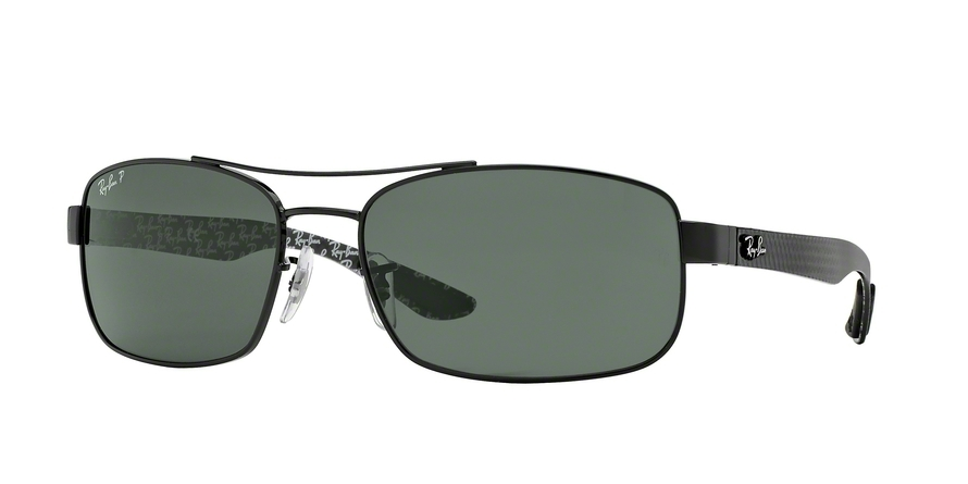 cfc1becc6c7 shop ray ban tech rb8302 sunglasses black frame crystal green akc ...