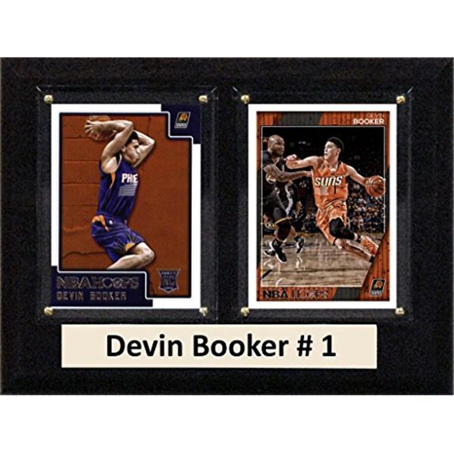 "C & I Collectables NBA 6"" x 8"" Devin Booker Phoenix Suns 2 Card Plaque"
