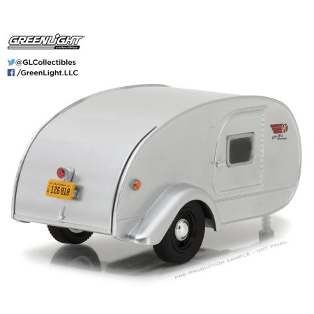 Greenlight 1:24 Hitch & Tow Trailers 1947 Ken-Skill Teardrop Trailer