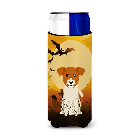Halloween Jack Russell Terrier Michelob Ultra Hugger for slim cans BB4374MUK (Jack Russell Halloween)