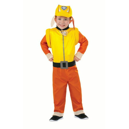 Rubies Paw Patrol Rubble Toddler Halloween Costume - Paw Patrol Costumes For Halloween