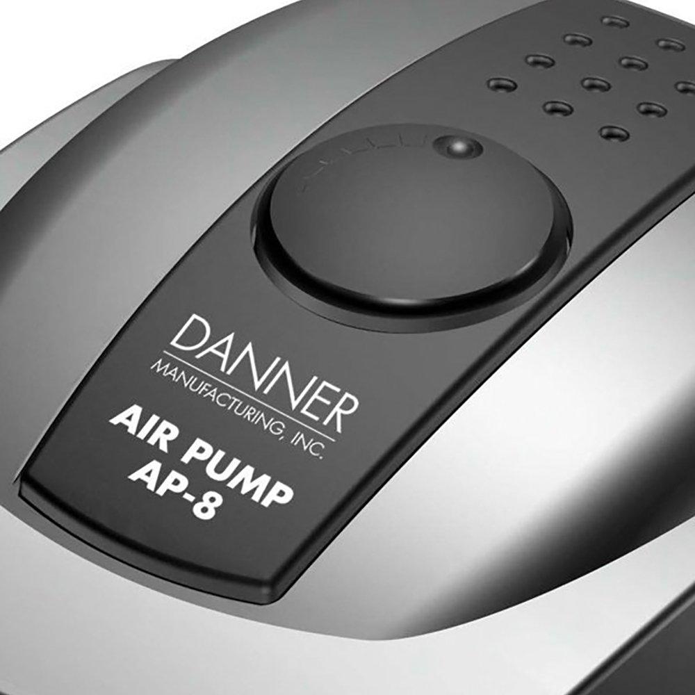 Danner Aqua-Supreme AP-8 8-Watt 4-Outlet Quiet Aquarium & Pond Air Pump | 06408
