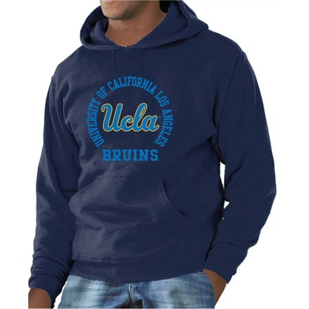 0c708c69 UCLA Bruins Adult NCAA Team Spirit Hooded Sweatshirt - Navy - Walmart.com