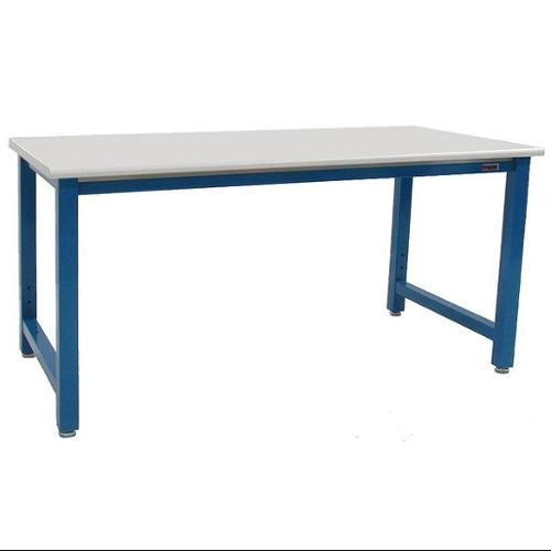 BENCHPRO KF3072 Ergo Workbench, Blue, 72Lx30Wx30H In. by BENCHPRO