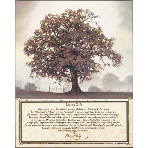 Dicksons Inc 'Living Tree' by Bonnie Mohr Graphic Art Plaque