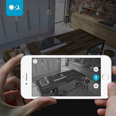Zmodo 720P HD WiFi Wireless Smart Security Camera Two-Way