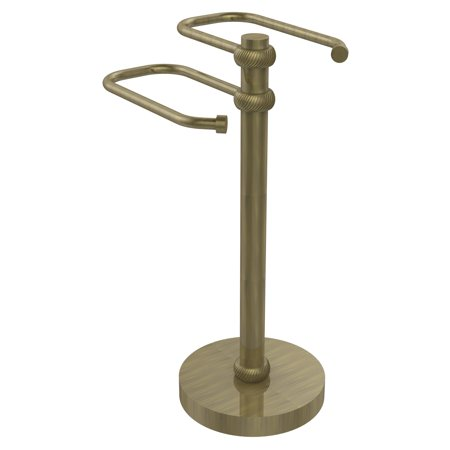 Allied Brass Ts 15T Two Arm Guest Towel Holder
