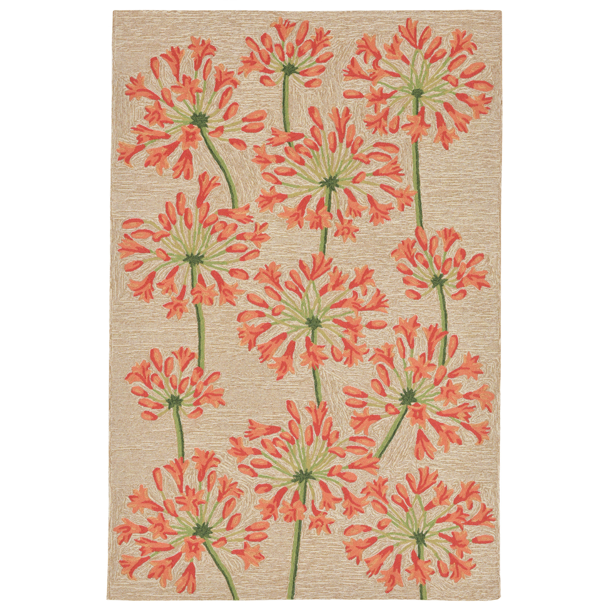 "RAVELLA 2273/12 DESERT LILY NEUTRAL - 7'6""X9'6"" Area Rug by Trans-Ocean"