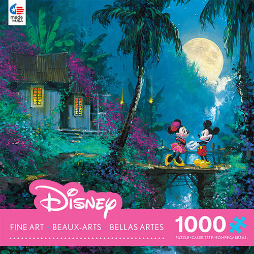 1000-Piece Disney Fine Art Moonlight Puzzle