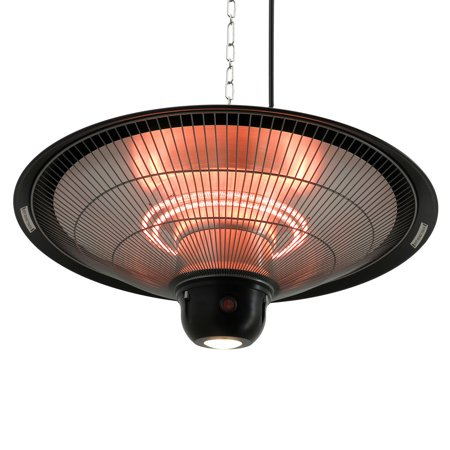 Outsunny 1500w ceiling mounted round outdoor electric for Motorized outside air damper