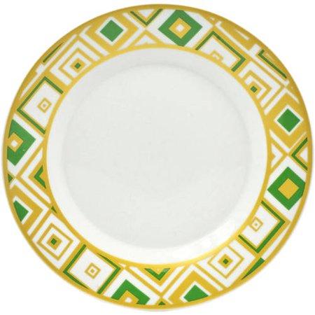 10 Strawberry Street Xena Salad Plate, Set of 4