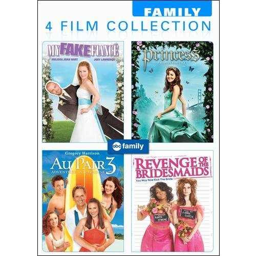 ABC Family 4 Film Collection: My Fake Fiance / Princess: A Modern Fairytale / Au Pair 3: Adventure In Paradise / Revenge Of The Bridesmaids (Full Frame)