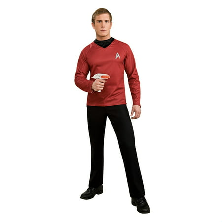 Classic Star Trek Costume (Star Trek Mens Deluxe Scotty Halloween)