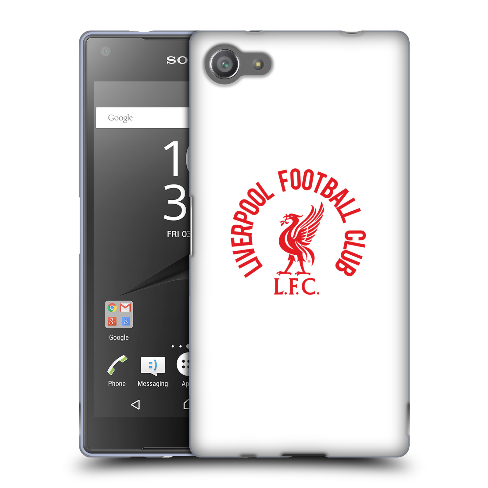 OFFICIAL LIVERPOOL FOOTBALL CLUB LIVER BIRD SOFT GEL CASE FOR SONY PHONES 1