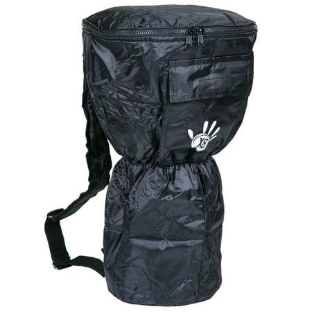Medium Djembe Bag (Water Resistant Nylon Djembe Bag with X8 Drums Logo,)