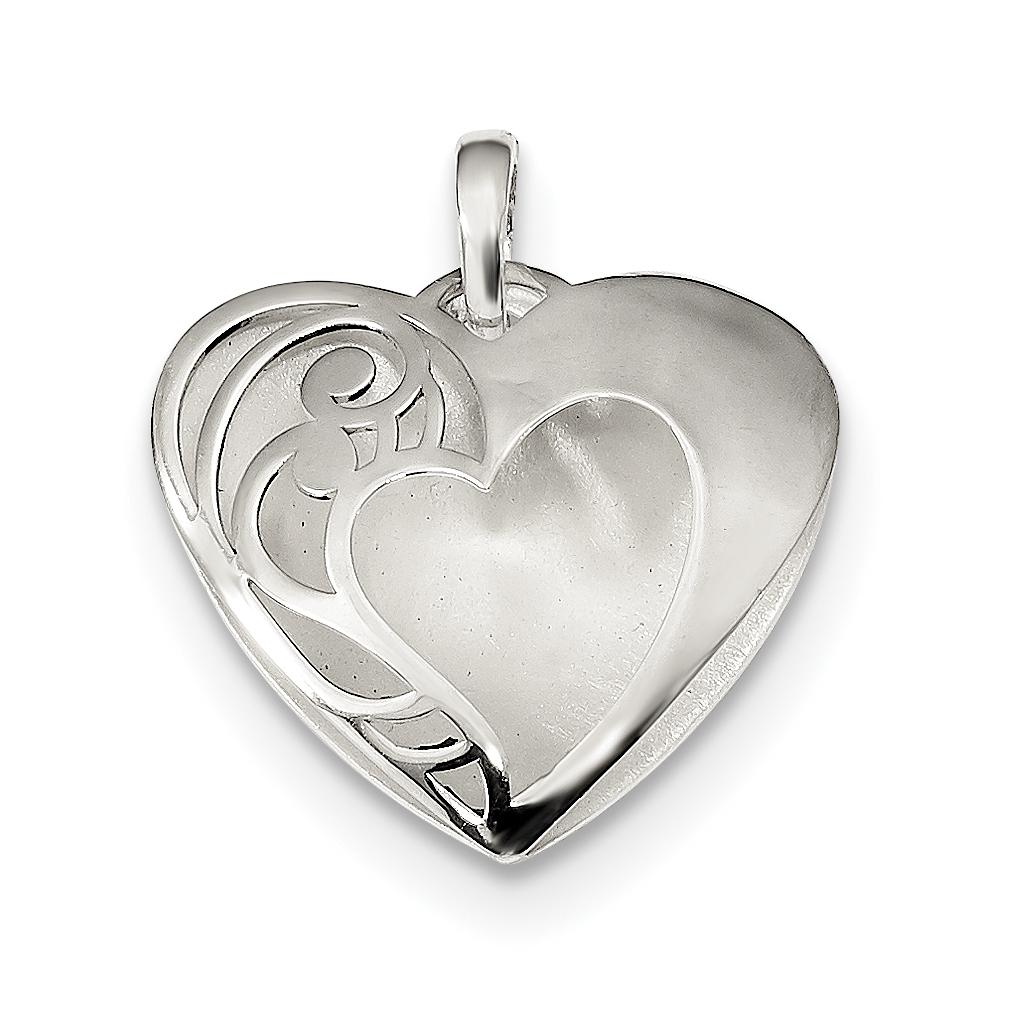 925 Sterling Silver Drop Dangle Chandelier Earrings Pendant Charm Necklace Set Love Fine Jewelry Gifts For Women For Her - image 3 de 4