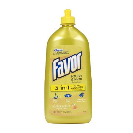 Favor 3-in-1 Floor Cleaner 27 Ounces.