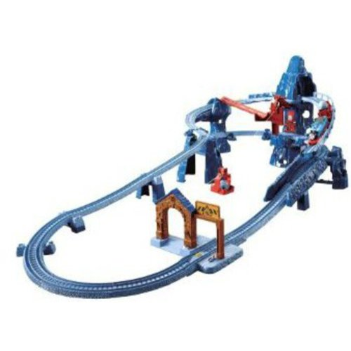 Fisher-Price Thomas and Friends Risky Rails Bridge Drop Play Set