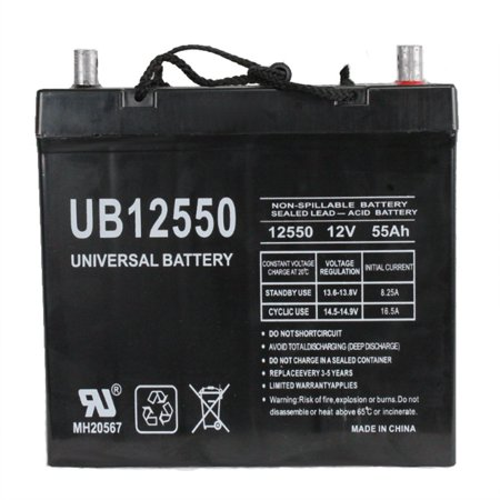 UB12550 (Group 22NF) 12V 55AH SLA Battery Z1 TT