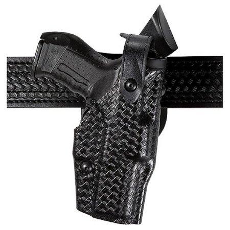 Safariland 6360-2832-131 Duty Holster STX Tactical Black RH Fits Glock 19 M3