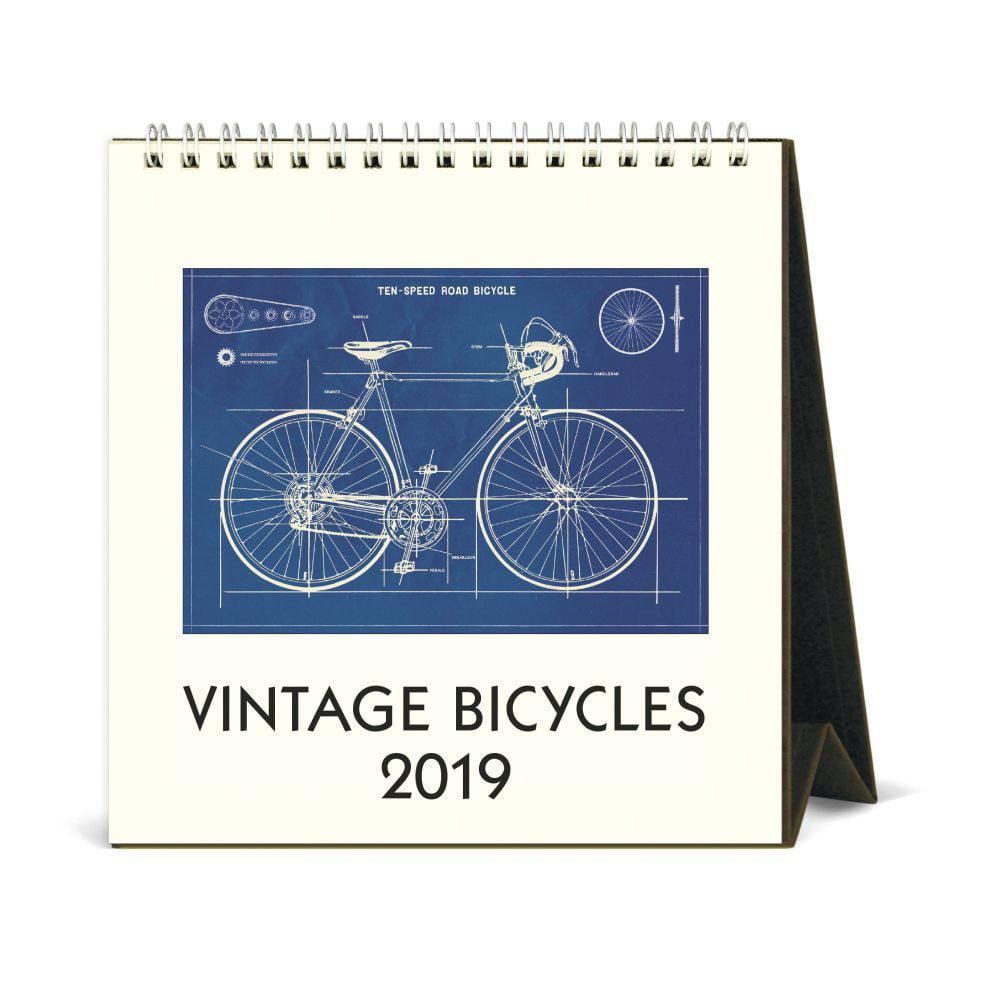 Bicycles Easel Desk Calendar Cycling By Calendars Walmart Com