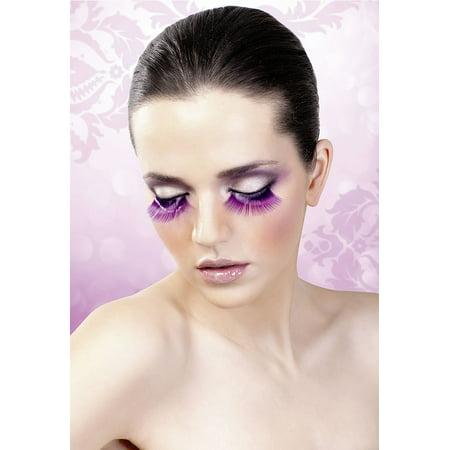 Long Purple Eyelashes](Purple Eyelashes)