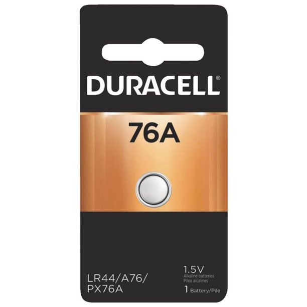 Duracell 76a 1 5v Alkaline Battery Replacement Lr44 Cr44 Sr44 Ag13 A76 Px76 Walmart Com Walmart Com