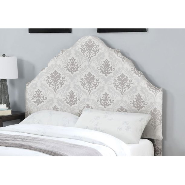 Clarisse Fabric Queen Bed Headboard And Footboard Component