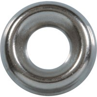 Hillman #6 Steel Nickel Plated Finishing Washer (10 Ct.) 6670