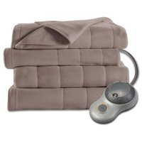 Sunbeam Electric Heated Fleece Blanket