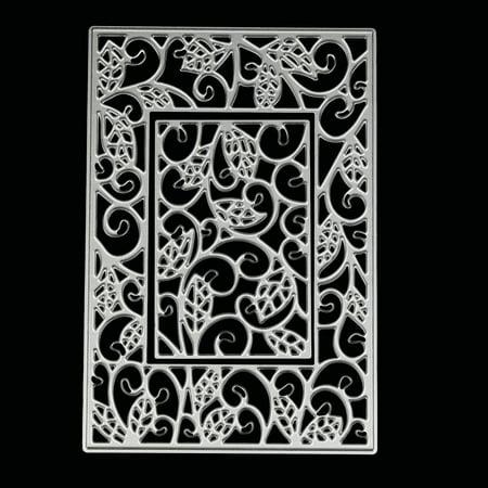 Metal Dyes (Metal Die Cutting Dies Stencil For DIY Scrapbooking Album Paper Card Decor Craft )