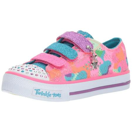 Skechers Kids Kids' Shuffles-Lookin Lovely Sneaker 11 M US Little
